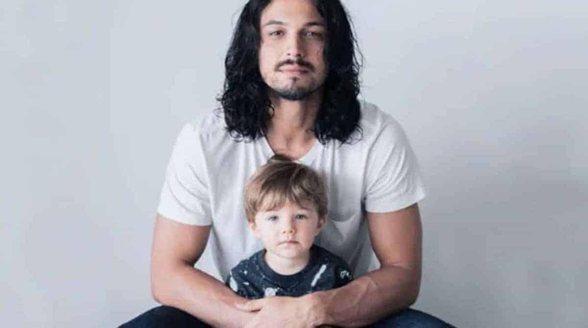 Theo, filho do ator Rômulo Estrela comemorou mais um ano de vida
