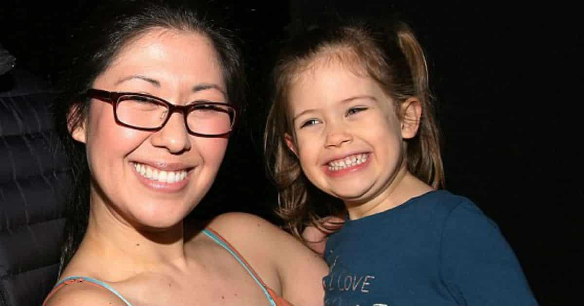 A atriz Ruthie Ann Miles perdeu bebê a menina Abigail Blumenstein