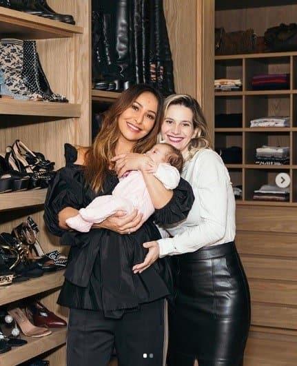 Sabrina Sato e seu novo closet