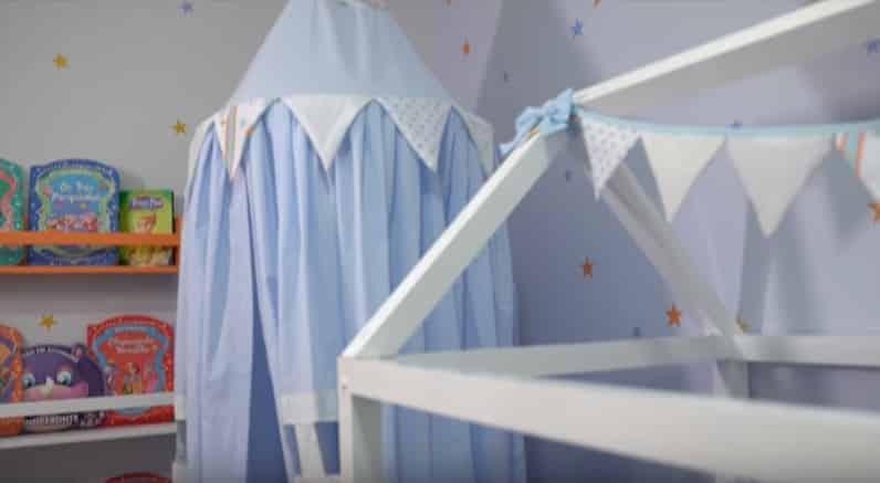 A apresentadora Sabrina Sato presenteou sua produtora com esse lindo quarto de bebê