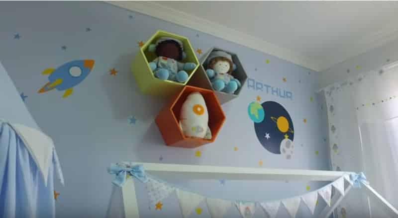 Outro detalhe do quarto que Sabrina Sato deu de presente para sua amiga Bruna