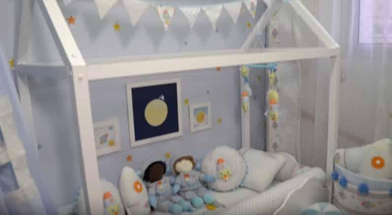 Imagem do quarto que Sabrina Sato fez para sua amiga Bruna