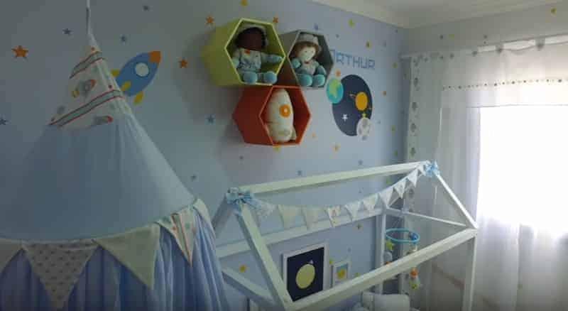 Um pouco mais do lindo quarto que Sabrina Sato deu para sua produtora
