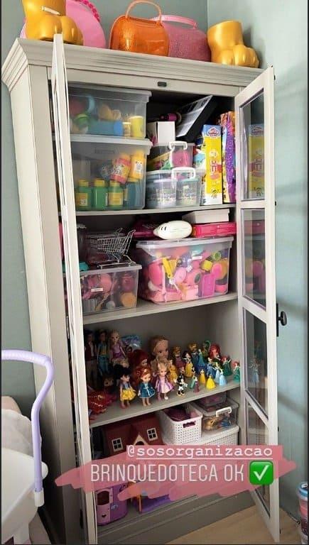 Brinquedoteca dos filhos do cantor Wesley Safadão já organizada