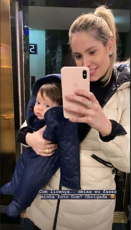 Esposa e filho de Wesley Safadão