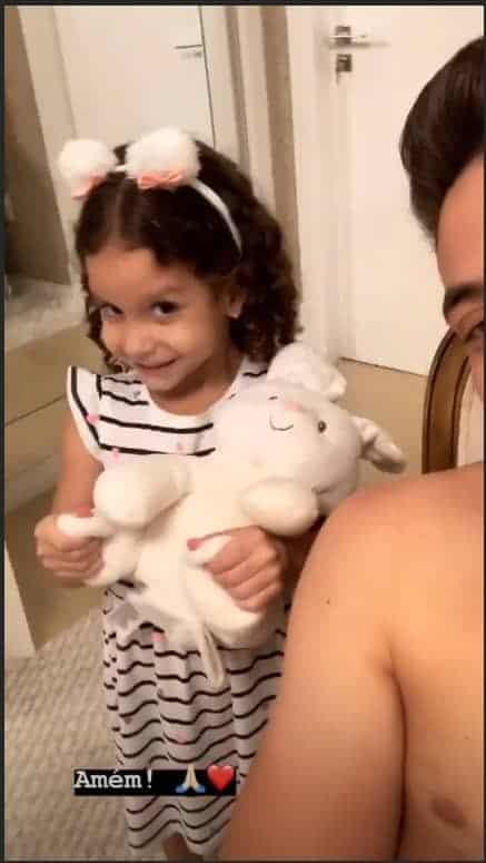 Ysis, filha de Safadão, já recebeu alta médica