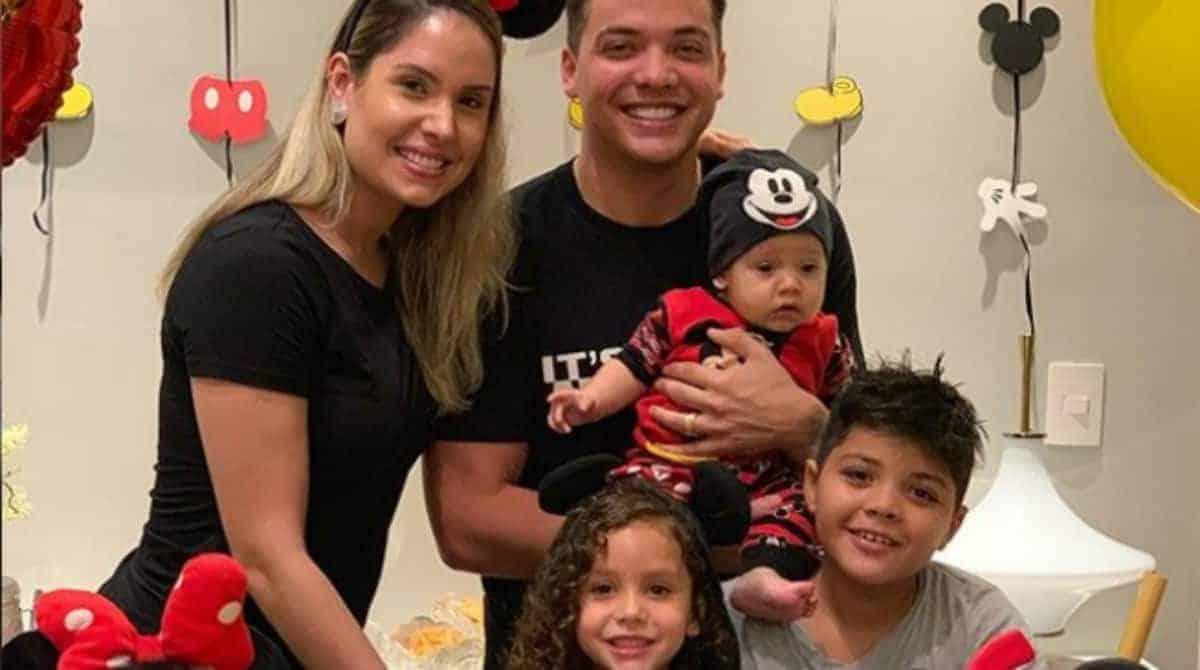 Filhos de Wesley Safadão vão parar no hospital