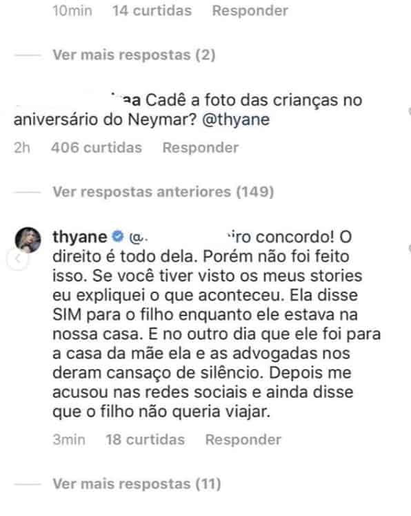Após o comentário de um internauta veja qual foi a resposta do cantor Wesley Safadão