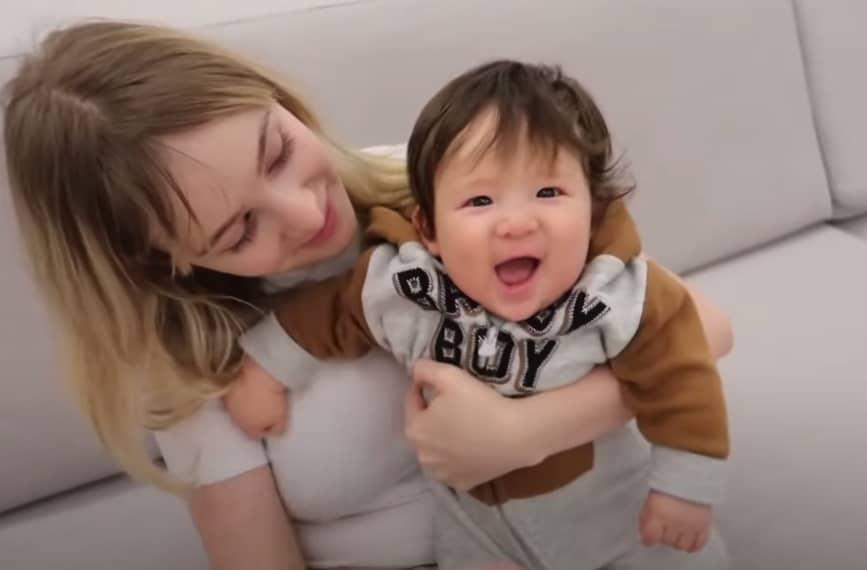 Sammy com o filho Jake após o desabafo