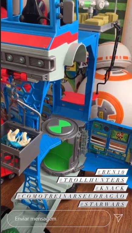 Brinquedos do filho de Sandy e de Lucas LIma
