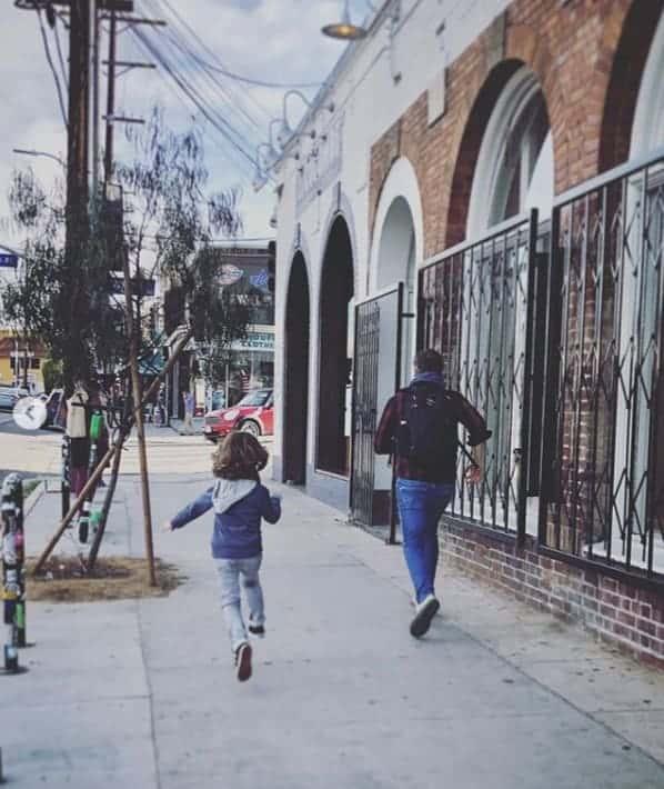 Filho de Sandy com o pai Lucas Lima em uma foto rara