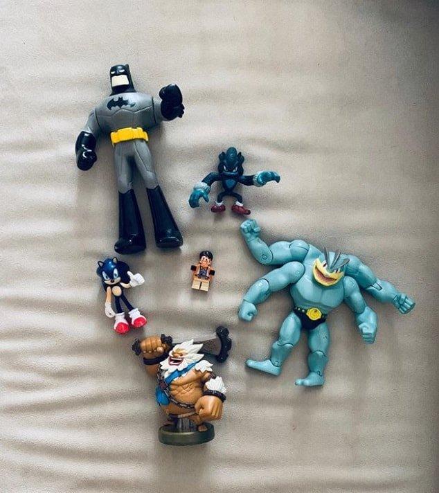 A coleção de brinquedos do filho de Sandy e Lucas Lima