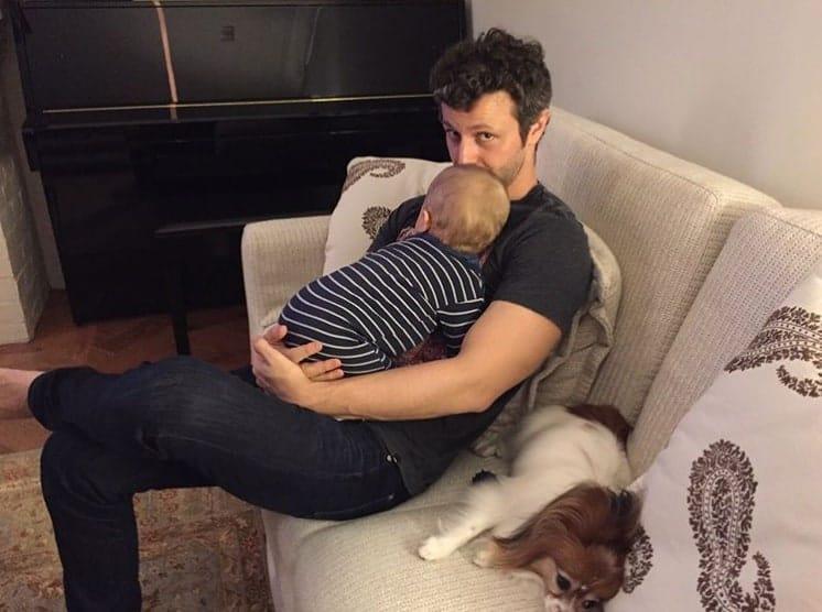 Lucas Lima e seu filho com Sandy