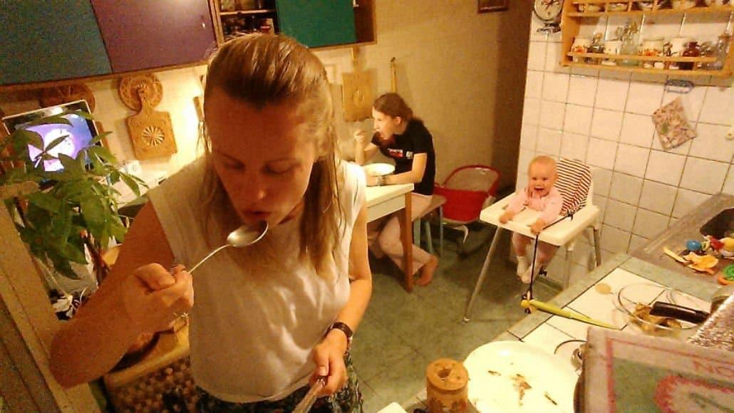 Jantar da mamãe