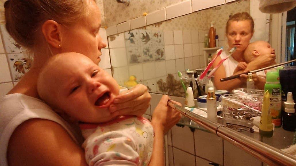 Hora de escovar os dentes