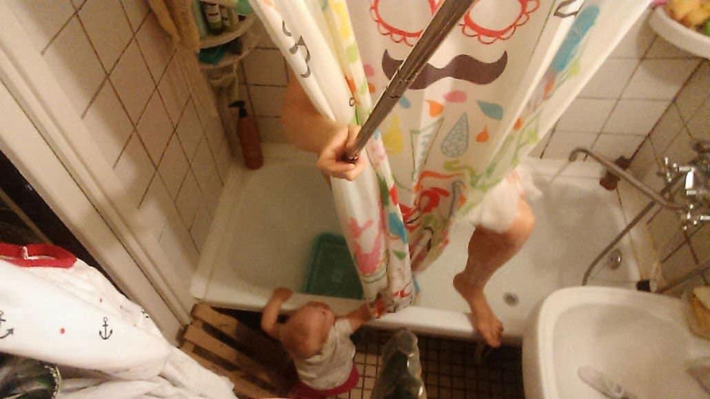 Sem privacidade nem no banho