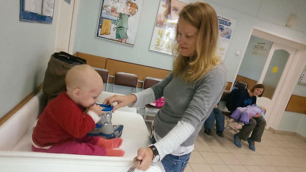 Consulta no pediatra