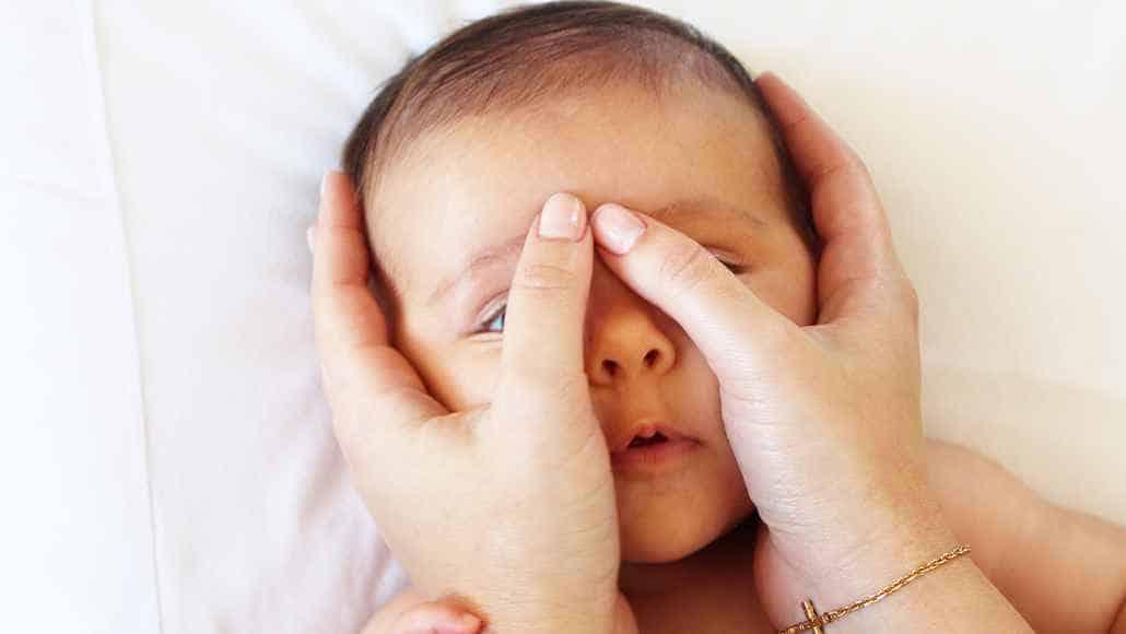 36º passo para fazer a shantala no bebê