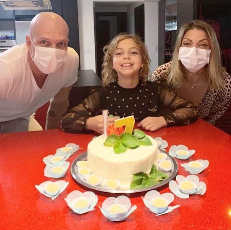 Sheila Mello e Xuxa se uniram para o aniversário de Brenda