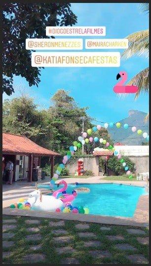 Detalhes da festa de um ano dos filhos de Maíra Charken e Sheron Menezzes