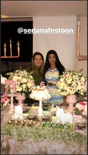 Simaria mostra festa de aniversário da filha