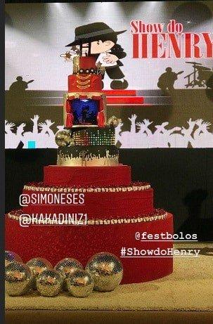 Confira como foi o aniversário do filho da cantora Simone