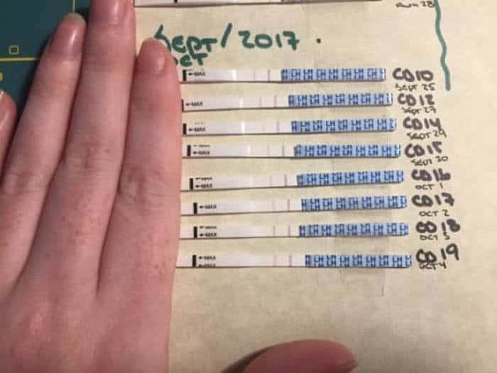Os testes dão certeza dos sintomas de ovulação