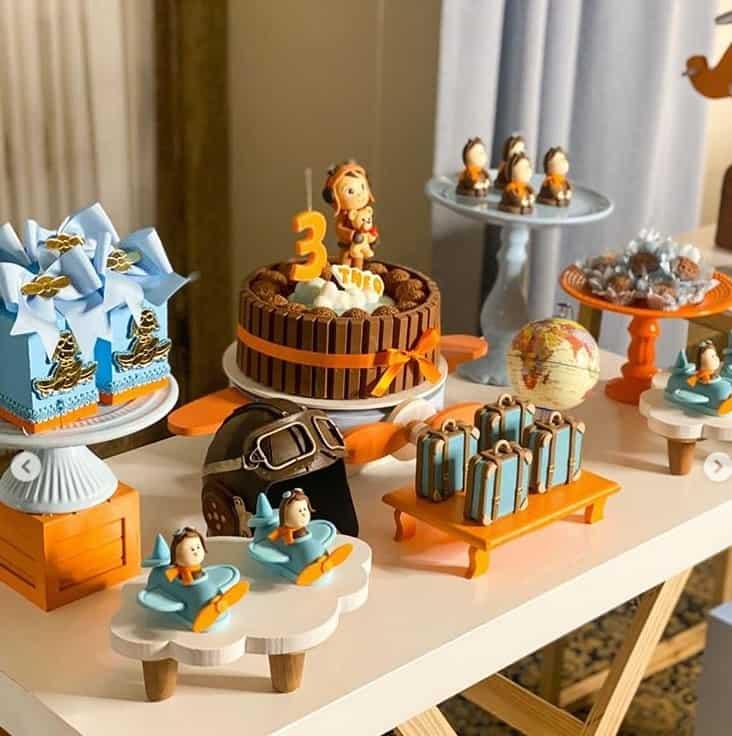 Festa de mêsversário do bebê de Sorocaba