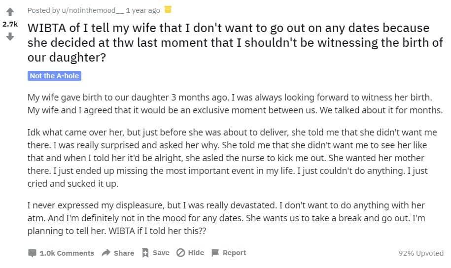 Desabafo do marido e pai de primeira viagem