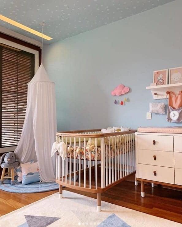 O fofo quarto da bebê de Tatá Werneck e Rafael Vitti
