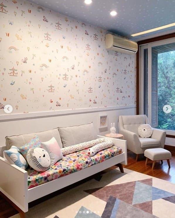 O quarto da filha de Tatá Werneck e Rafael Vitti