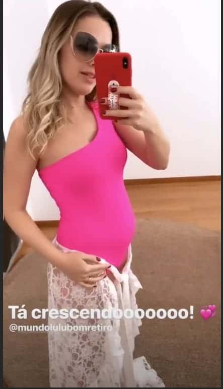 Thaeme grávida de Liz