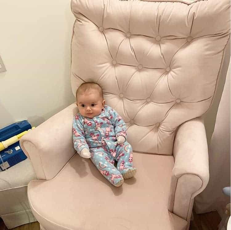 A foto da bebê de Thaeme que gerou polêmica