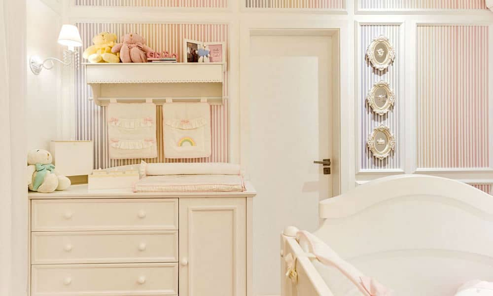 Decoração do quarto da filha de Thaeme