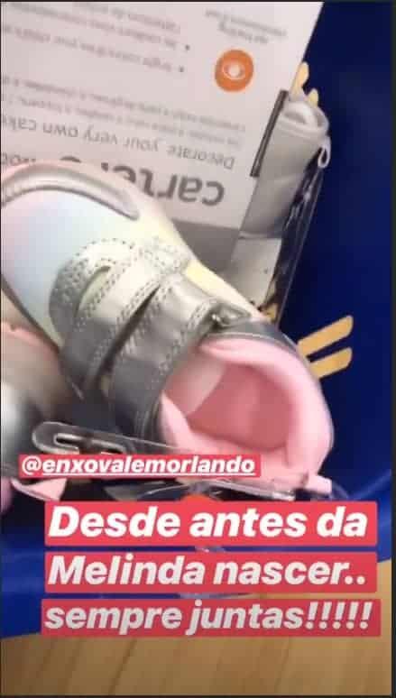 A atriz Thaís Fersoza compartilhou um dos presentes de seu filhos