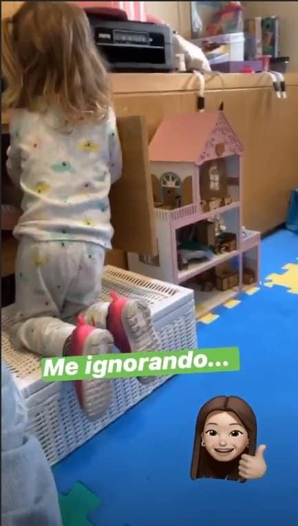 Thaís Fersoza mostrou casa de bonecas de sua filha