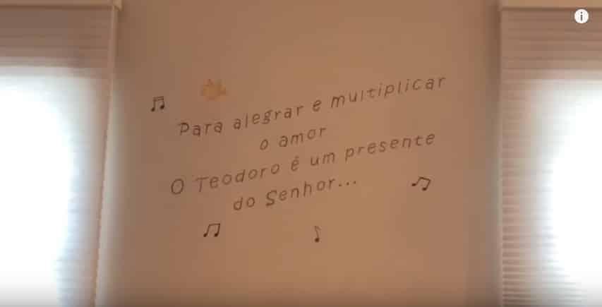 Linda caminha do filho de Thaís Fersoza e Michel Teló