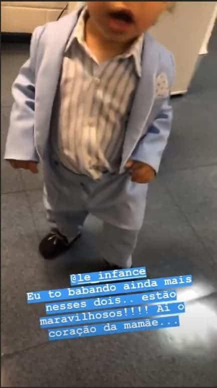 """Teodoro """"fantasiado"""" de Roberto Carlos"""