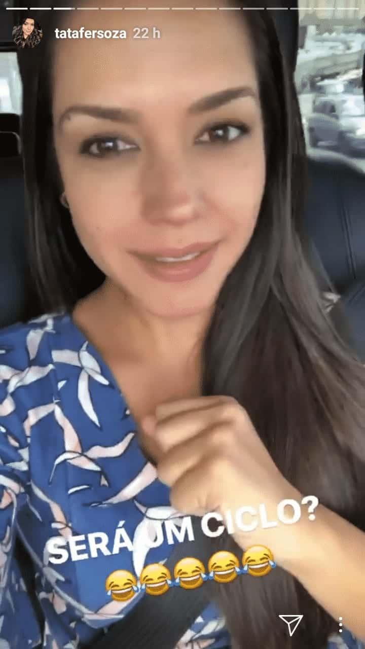 Veja qual foi a publicação que a atriz Thaís Fersoza fez