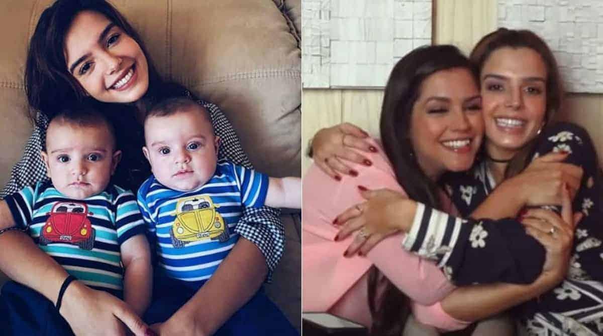 Sobre maternidade saiba o que falou Giovanna Lancelotti para Tháis Fersoza
