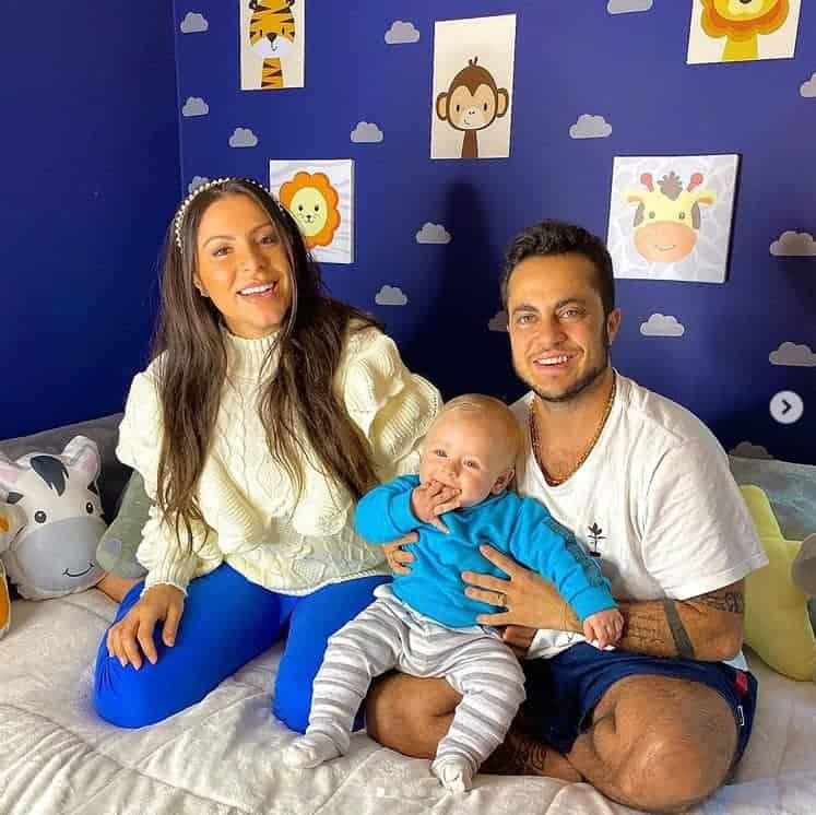Quarto de brinquedos do bebê de Andressa Ferreira e Thammy Miranda