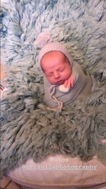 Ensaio newborn do bebê de Thammy Miranda