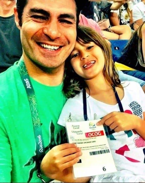 Publicação de Thiago Lacerda com sua filha