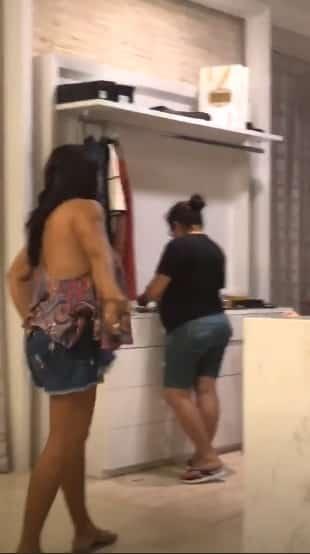 Sozinha Thyane Dantas não consegue cuidar desse closet gigante