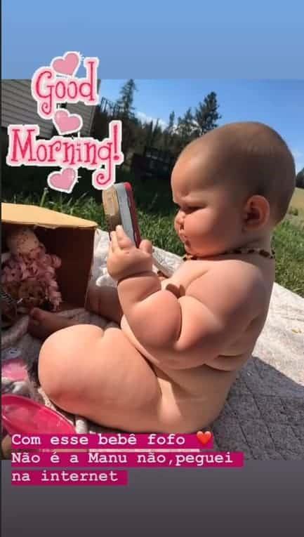 Ticiane Pinheiro mostrou bebê bochechuda e fofíssima