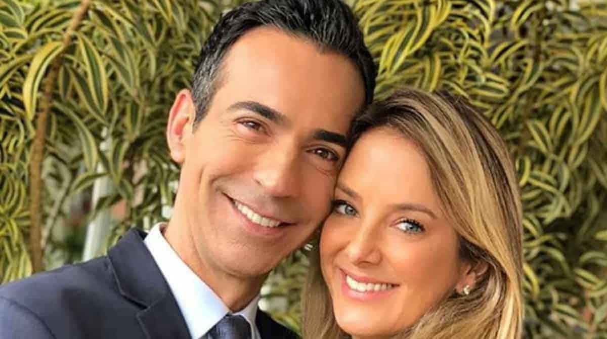 A apresentadora Ticiane Pinheiro postou uma linda foto com o seu marido César Tralli