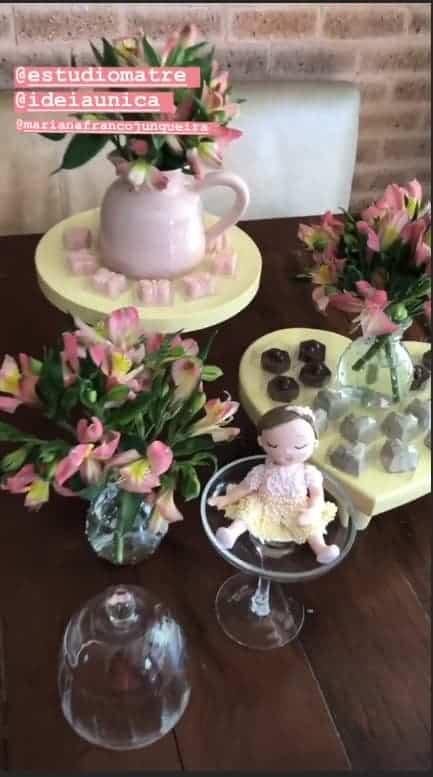 Festa da pequena Manuella, filha de Ticiane Pinheiro