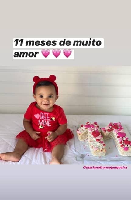Mêsversário da filha de Ticiane Pinheiro