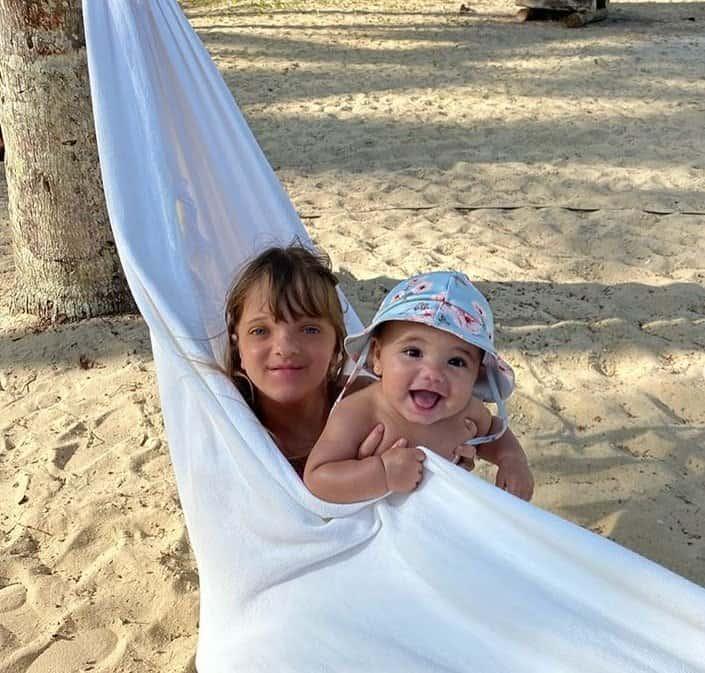 As duas filhas de Ticiane Pinheiro na rede