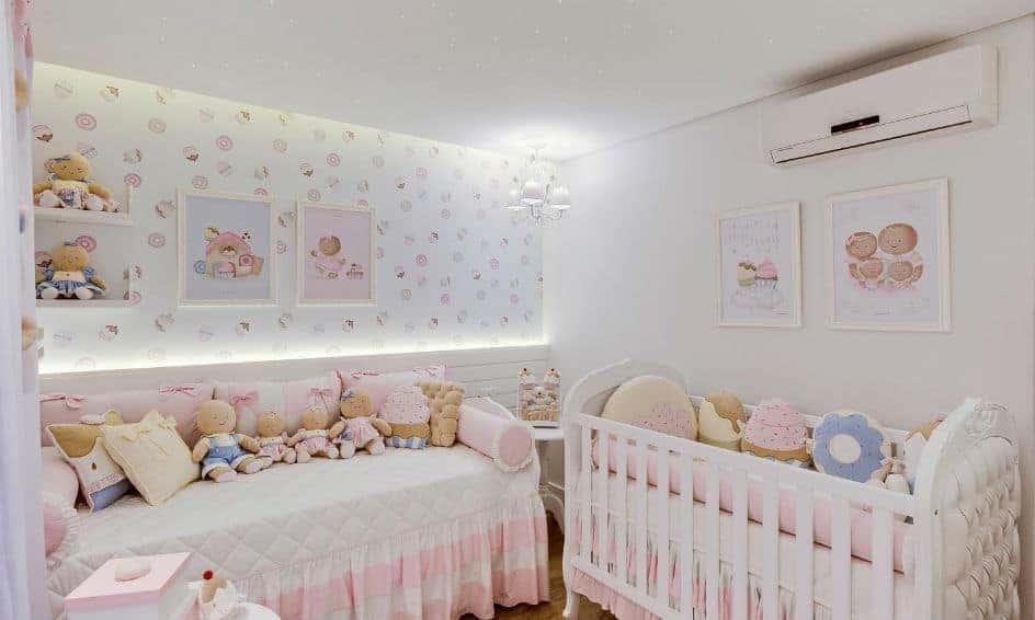 Ticiane Pinheiro mostrou o lindo quarto de Manuella